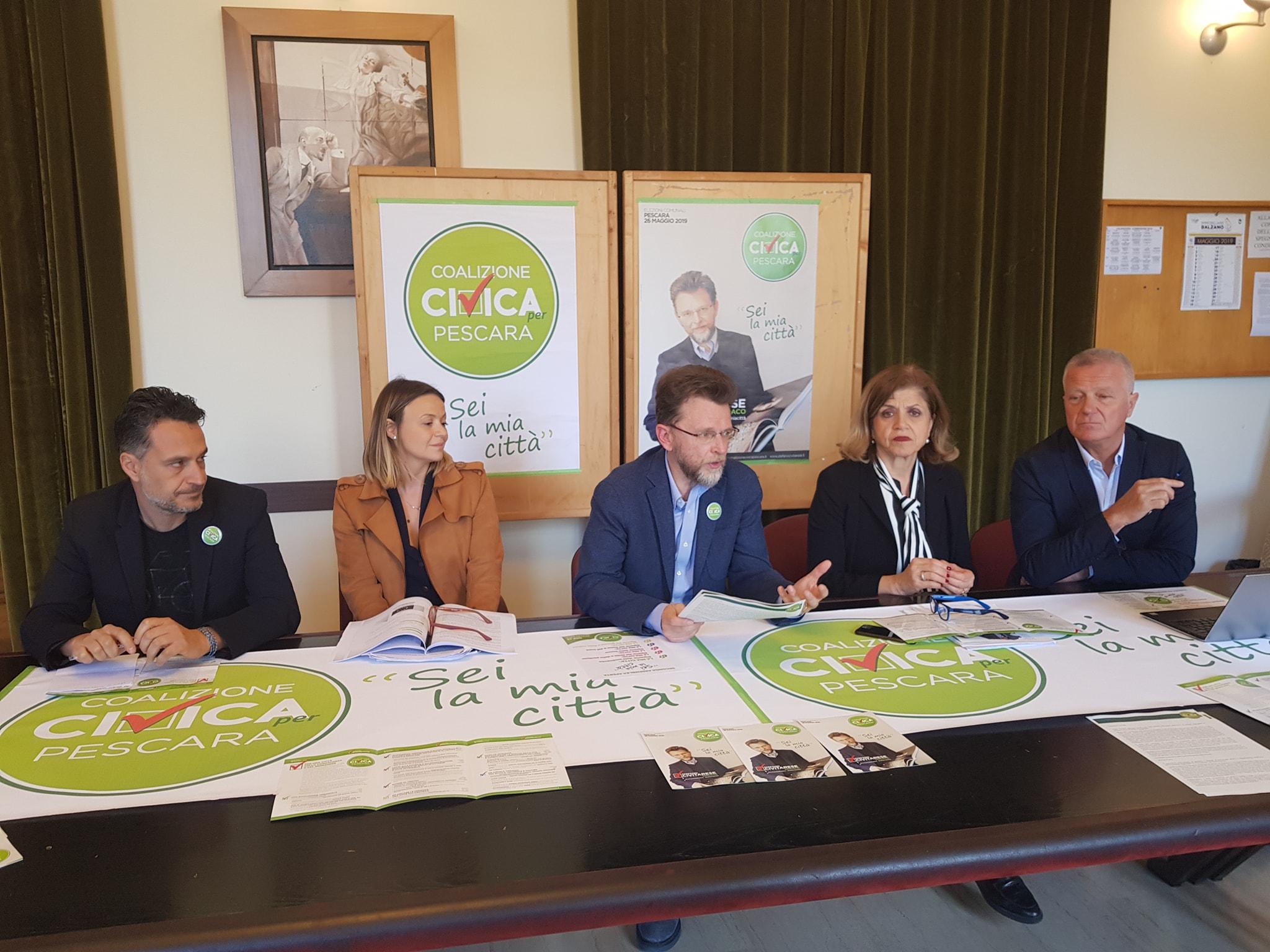 Presentazione della squadra di Civitarese per la costituzione della Giunta