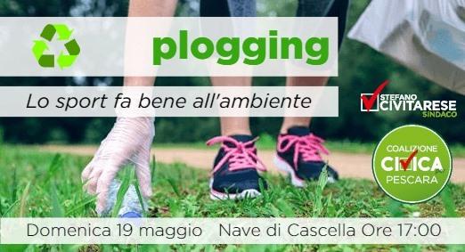 Domenica 19 il primo esperimento di plogging, la corsa ecologica per pulire la città.